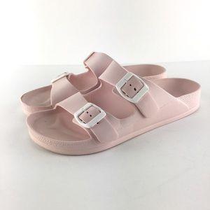 """Baby Pink Slides """"Birkenstock-Like"""" Size 40"""